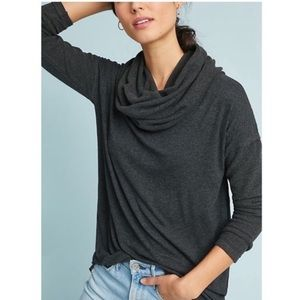 Anthropologie Abbie Cowl Tunic